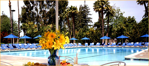 The pool at the Claremont