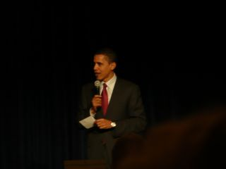Barack Obama in San Francisco, January 17, 2008