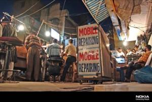 Mobile phone repair shop in India