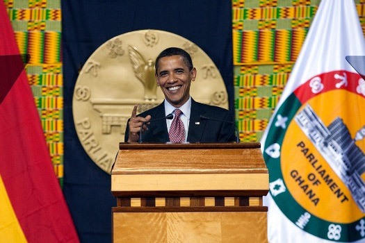 Obama in Ghana