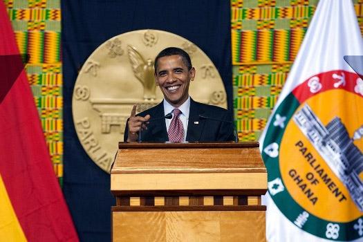 Obama in Ghana