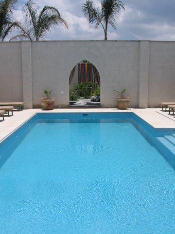 Shanti San Miguel pool